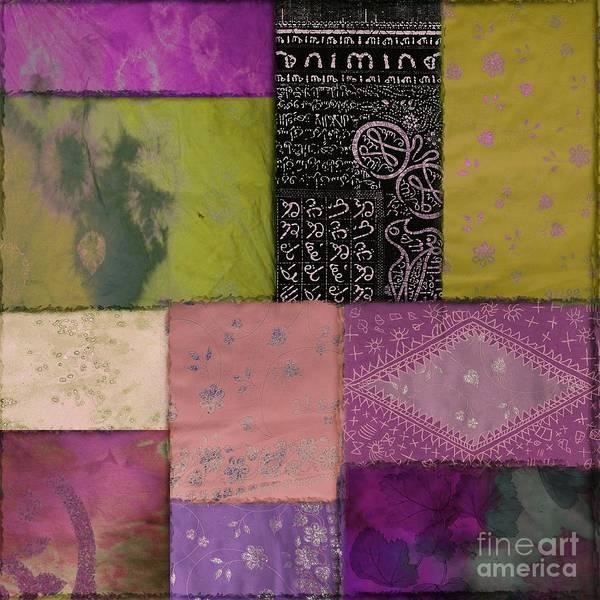 Dye Painting - Afrikan Batik II by Mindy Sommers