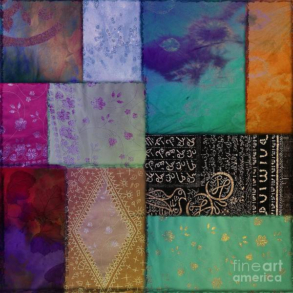 Dye Painting - Afrikan Batik by Mindy Sommers