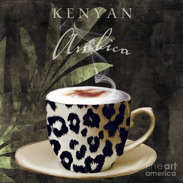 Mocha Painting - Afrikan Coffees IIi by Mindy Sommers