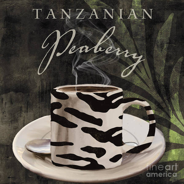 Mocha Painting - Afrikan Coffees by Mindy Sommers