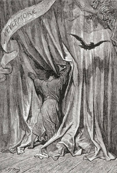 Dor Drawing - After A Drawing By Gustave Dore For by Vintage Design Pics