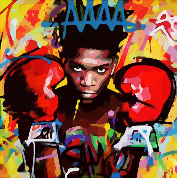 Digital Art - After Basquiat Four by Gary Grayson