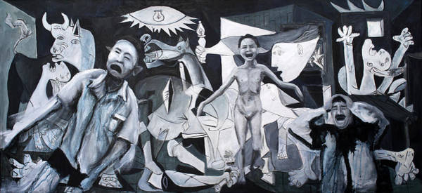 After Guernica Art Print by Michelle Barone