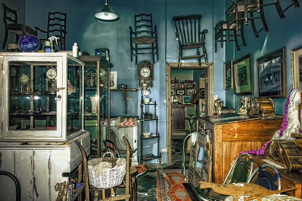 Wall Art - Photograph - After Hours Antiques by Wayne Sherriff