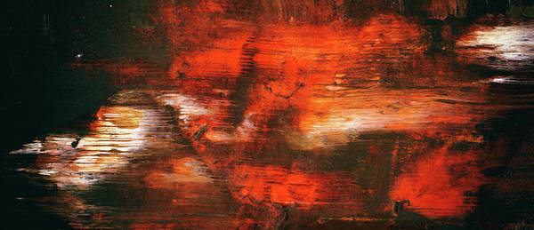 Wall Art - Painting - After Midnight - Black Orange And White Contemporary Abstract Art by Modern Abstract