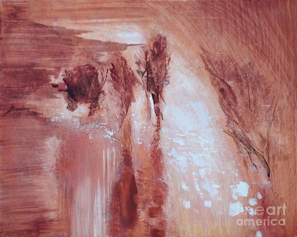 Wall Art - Painting - After Rain by Aneta  Berghane