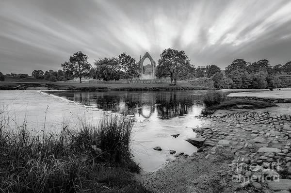Photograph - After Sunset Bw by Mariusz Talarek