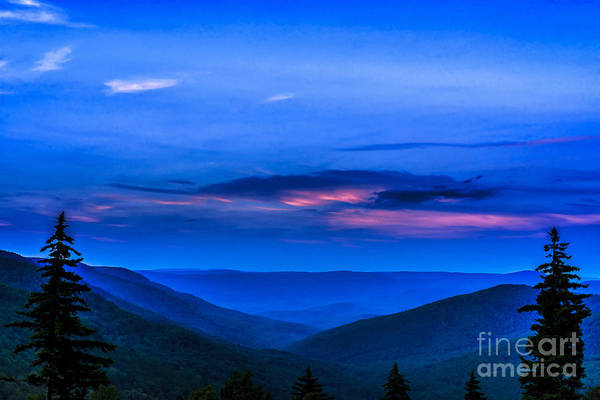 Highland Scenic Highway Wall Art - Photograph - After Sunset by Thomas R Fletcher