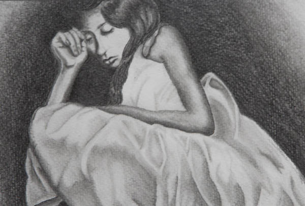 Drawing - After The Ball- Daddy's Girl by Elyza Rodriguez