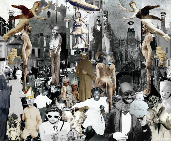Digital Art - After The Bombs by Doug Duffey