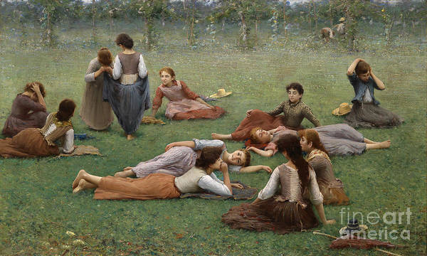 Fausto Zonaro Painting - After The Game by MotionAge Designs