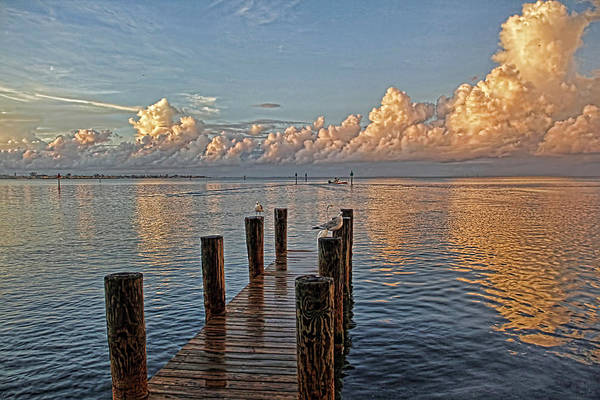 Dock Of The Bay Photograph - After The Rain by HH Photography of Florida