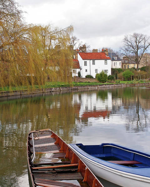 Photograph - After The Rain On Cambridge River by Gill Billington
