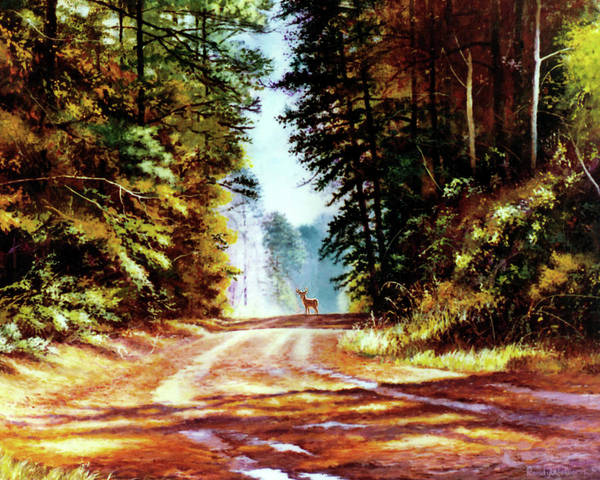 Painting - After The Rain by Randy Welborn