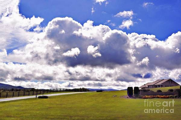 Rockbridge County Photograph - After The Rainbow by Kathy Jennings