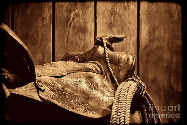 Photograph - After The Round Up by American West Legend By Olivier Le Queinec