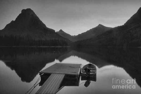 Photograph - After The Season In Black And White by Adam Jewell