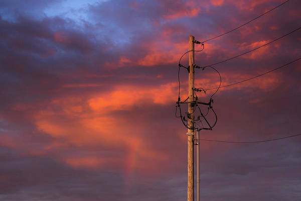 Utility Pole Photograph - After The Storm by Don Spenner