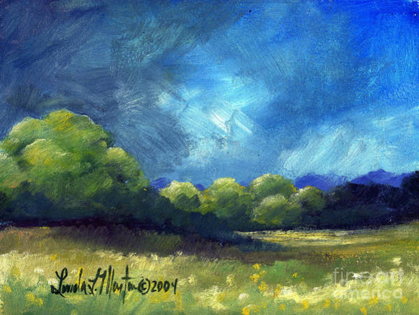 Painting - After The Storm by Linda L Martin