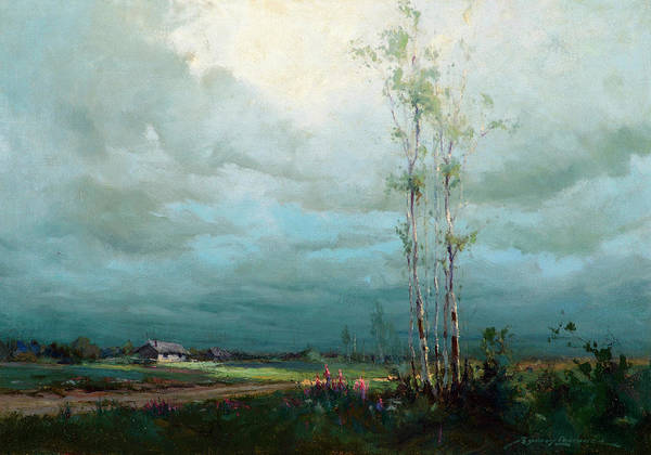 Wall Art - Painting - After The Storm by Sydney Mortimer Laurence
