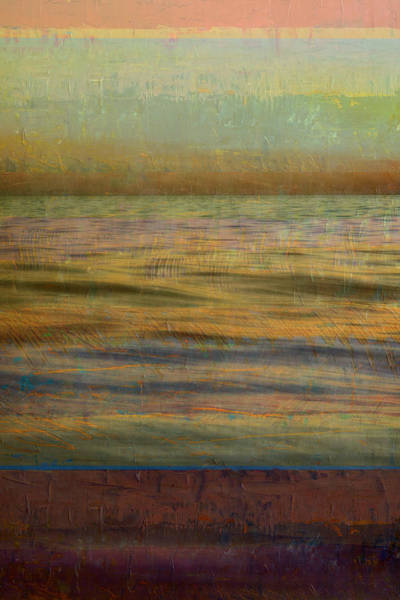 Photograph - After The Sunset - Teal Sky by Michelle Calkins
