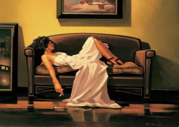 Thrilling Painting - After The Thrill Has Gone by Jack Vettriano