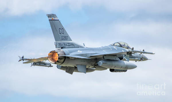 F-16 Photograph - Afterburner by Nathan Gingles