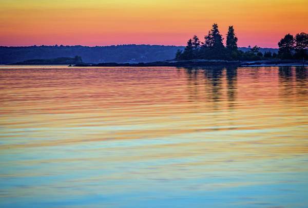 East Point Photograph - Afterglow On Johns River by Rick Berk