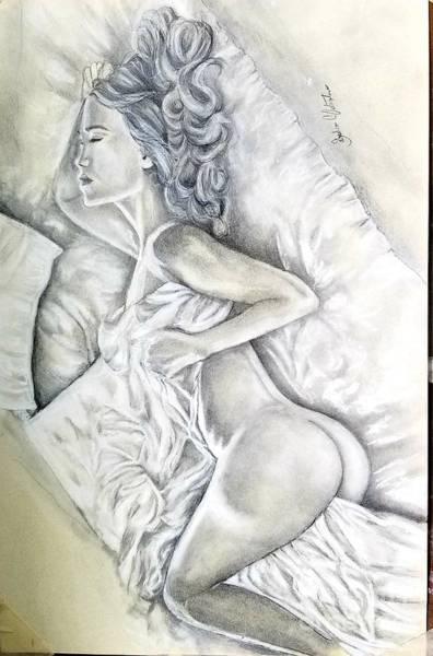 Wall Art - Drawing - Afterglow by Sandra Valentini