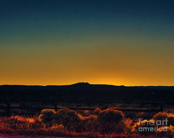 Photograph - Afterglow X by Charles Muhle