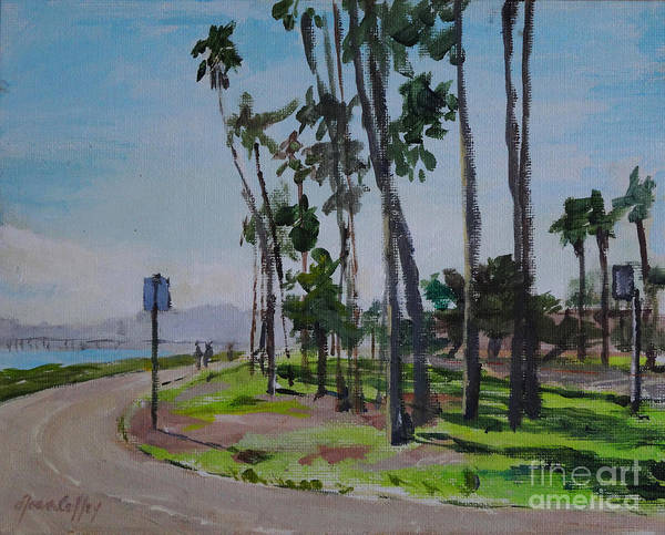 Painting - Afternoon At East Beach by Joan Coffey