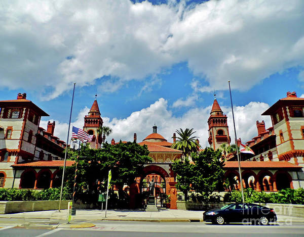 Photograph - Afternoon At Flagler College by D Hackett