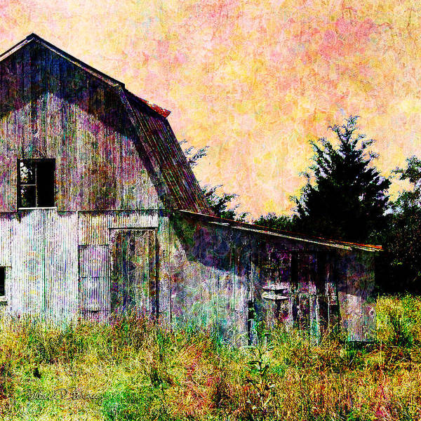 Digital Art - Afternoon At The Barn by Barbara Berney