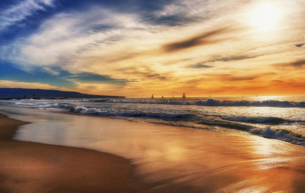 Photograph - Afternoon At The Beach by Michael Hope