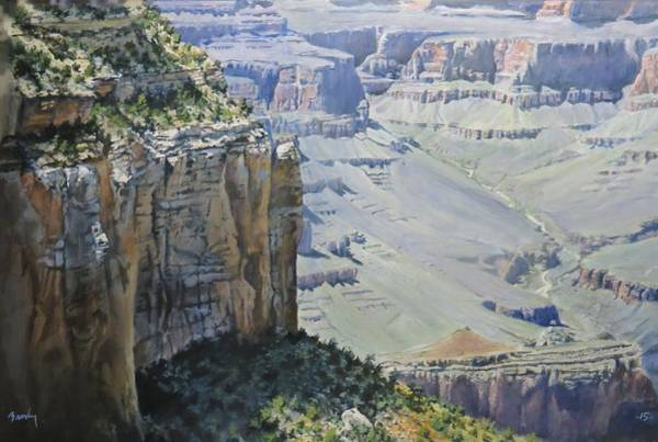 Painting - Afternoon At The Canyon by William Brody