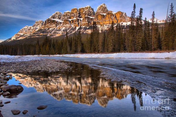 Photograph - Afternoon Bow River Reflections by Adam Jewell