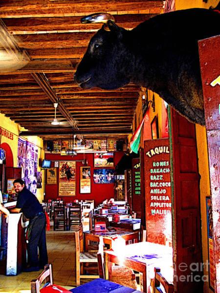 Matador Photograph - Afternoon Cervezas by Mexicolors Art Photography