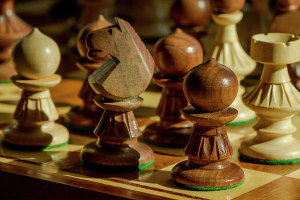 Photograph - Afternoon Chess Game by Teri Virbickis