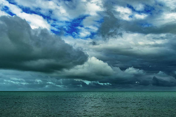 Photograph - Afternoon Clouds In Key West, Florida by Bob Slitzan