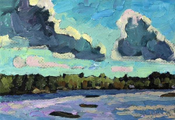 Stratocumulus Painting - Afternoon Cold Front by Phil Chadwick