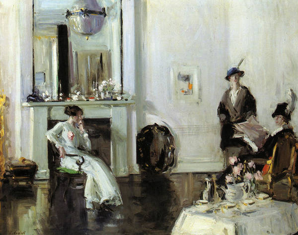 Francis Painting - Afternoon by Francis Cadell