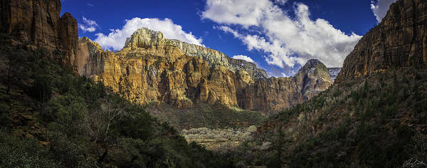 Photograph - Afternoon From Upper Emerald Pool by Owen Weber