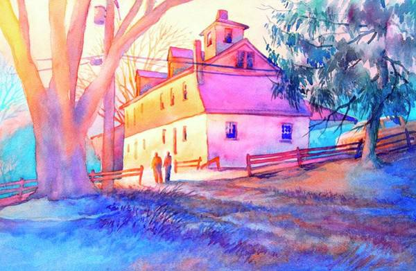 Brandywine Wall Art - Painting - Afternoon Glow by Virgil Carter