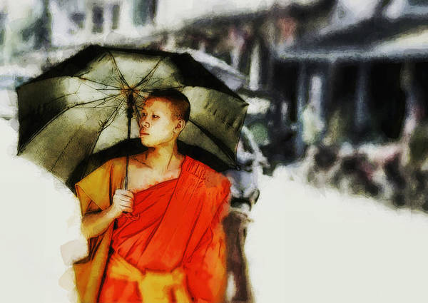 Digital Art - Afternoon In Luang Prabang by Cameron Wood