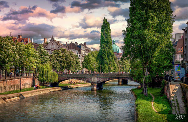 Photograph - Afternoon In Strasbourg by Endre Balogh