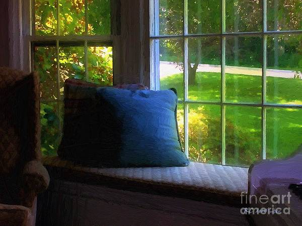 Painting - Afternoon In The Music Room by RC DeWinter