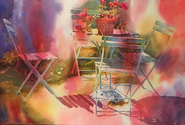 Painting - Afternoon Light Giverny, France by Tara Moorman