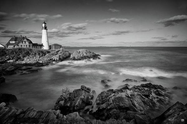 Photograph - Afternoon Light In Black And White by John Meader