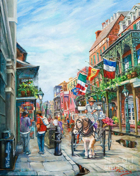 Wall Art - Painting - Afternoon On St. Ann by Dianne Parks