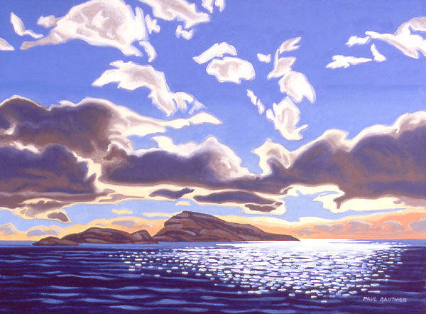 Wall Art - Painting - Afternoon Overture by Paul Gauthier